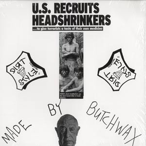 Butchwax - Headshrinker Breaks LP